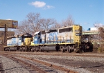 CSX 8259 on a light power move  